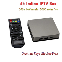 HD Indian IPTV BOX support Indian Live TV Channels with English channels internet TV box Free Forever Android Indian IPTV Box