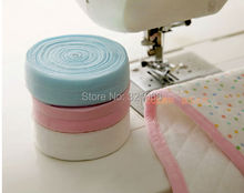 50 meters mixed color 2 cm elastic packet sideband diy baby cloth seam binding Clothing accessories wholesale