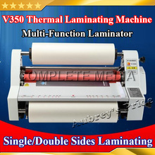 "Free Shipping A3 13"" 350MM High Speed Thermal Hot Cold Laminating Machine Mounting Roll Laminator Bopp Film(China)"