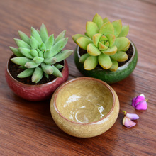 (5 pieces a lot)Simple Binglie mini ceramic pots