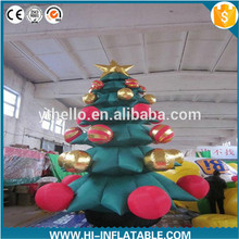 3m Height Giant Decorative Inflatable Christmas Tree for Christmas