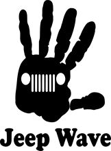 Jeep Hand Jeeper Off-Road Rock Climbing Car Truck Window Vinyl Decal Sticker free shipping(China)