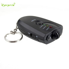 Dropship Hot Selling Car Key Chain Alcohol Tester Digital Breathalyzer Alcohol Breath Analyze Tester Gift May 19(China)