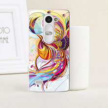 22 Patterns Hard Plastic Painting Case For LG Leon C40 4G Case Cover For LG LEON LTE H340N H324 H320 Case Cover+Free Dust Plug(China)