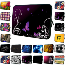 "High Quality Women Fashion 2017 Butterfly Bag 12 13 7 10 14 15 17 Inch Protector Laptop Cases 15.6""Computer Pouch For HP Envy(China)"
