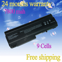 JIGU NEW 6600 MAH Laptop Battery For HP COMPAQ Bsineuss Notebook 6715s NX5100 NC6400 NX6110 NX6325 HSTNN-IB08