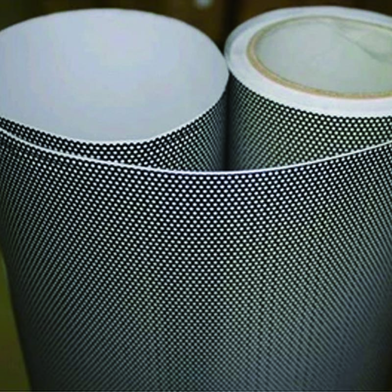 Privacy Window Adhesive Sticker Perforated Vinyl Double Black 1.22mx10m<br><br>Aliexpress