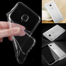 Cheap Mobile Phone Cases for OnePlus 3 Transparent Clear Crystal TPU Thin Protective Case Back Cover Case Skin