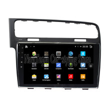 NaviTopia Brand New 10.1inch Quad Core Android 6.0 Car PC For Volkswagen Golf 7(2014-2016) Car Audio Player With GPS Navigation(China)