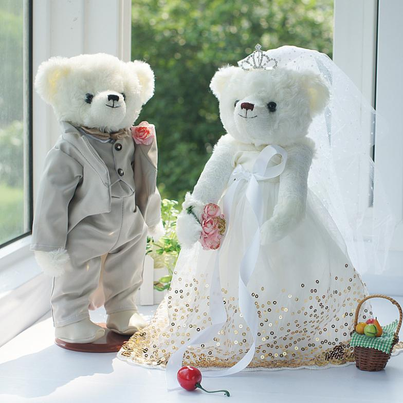 GX510 Phnom Penh paragraph five joints Bear Wedding Couple Bear ,Bear wedding doll wedding car manufacturers, wholesale<br>