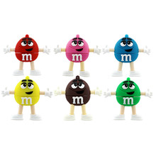 Trend Fashion cute Chocolate Beans pvc usb flash drive bulk buy from china