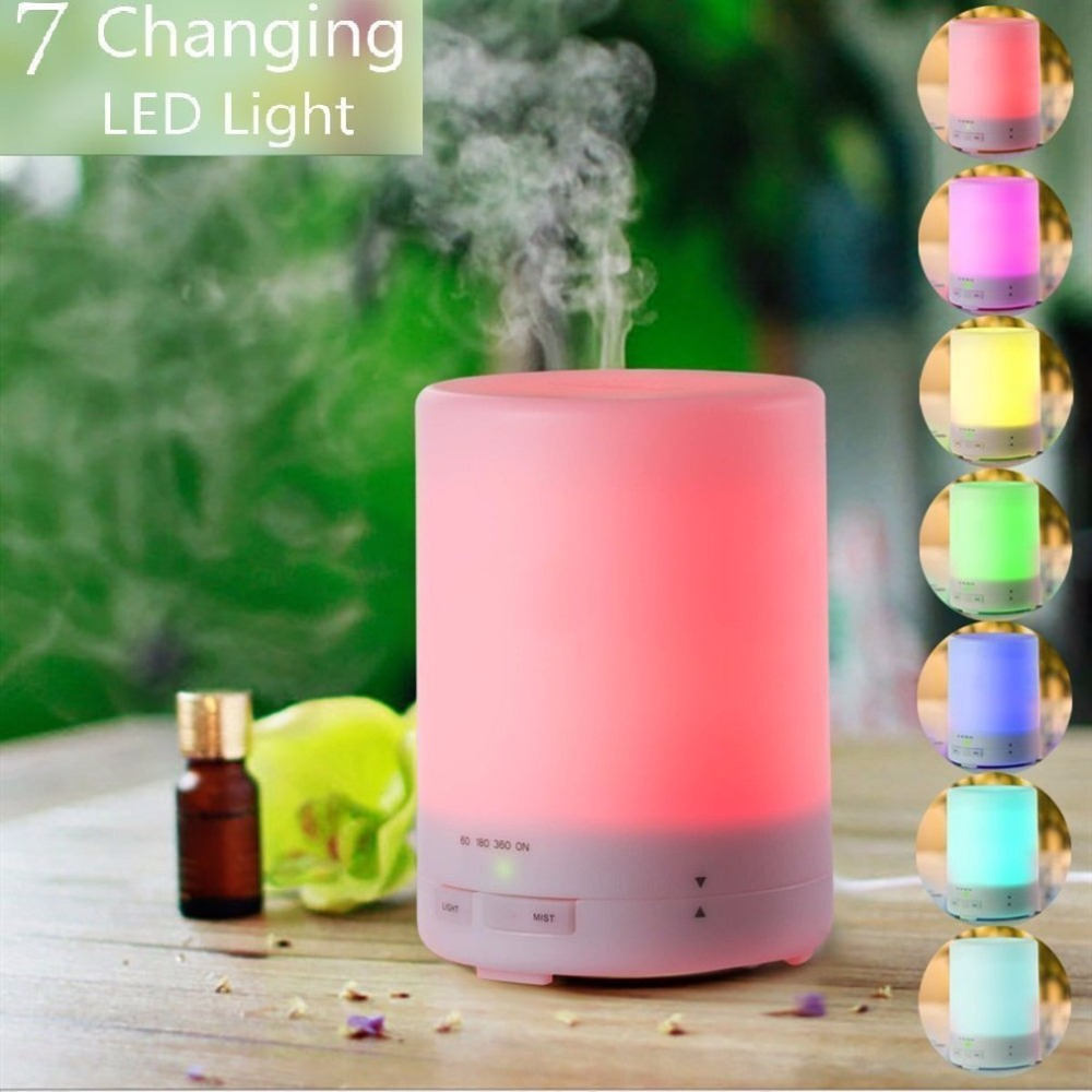 300ml Aroma Essential Oil Diffuser Ultrasonic Air Humidifier with 8 HOURS Continuous Diffusing and AUTO Shut off  for home <br><br>Aliexpress