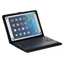 Huawei MediaPad M2 10.0 M2-A01L/A01M/A01W Folio PU Leather Case Stand Cover+Removable Bluetooth Touchpad Keyboard(China)