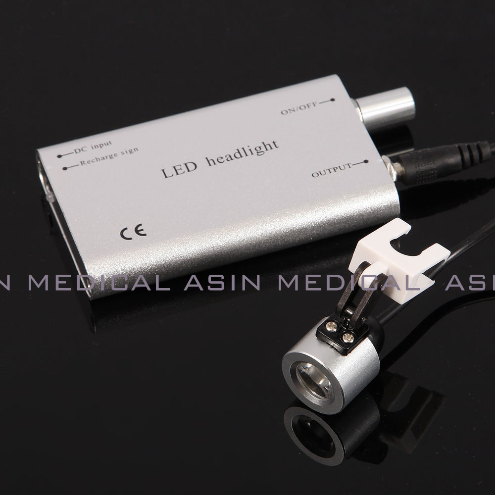 1*LED Dental Head Light battery Medical Surgical Binocular Loupes kits Sale<br>