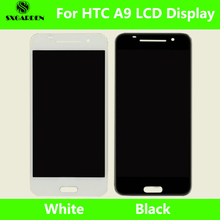 SXGARDEN For HTC Original One A9 LCD Display With Touch Screen Digitizer Assembly Replacement Parts and frame