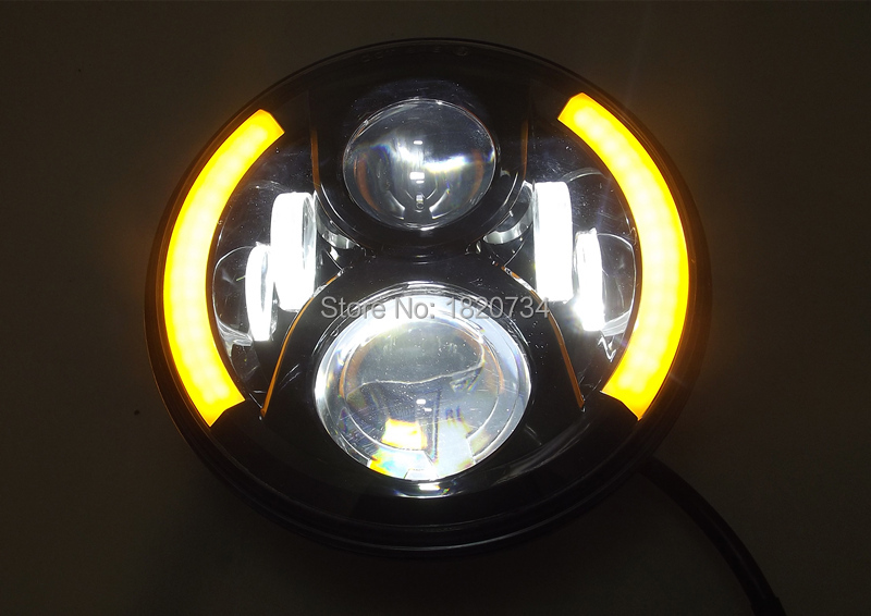 7 inch Round LED Headlight 15