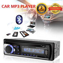 Car Radio Stereo MP3 Player 1 DIN With Bluetooth Remote Control Car Audio 12V FM Radio With USB SD AUX Auto Electronics In-Dash