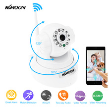 KKmoon Wireless Wifi IP Camera Pan Tilt IR-Cut Home Security Camera Night Vision CMOS CCTV Network IP Camera Phone Control