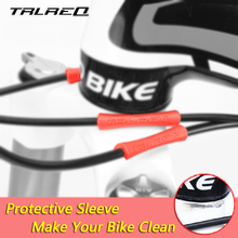 4 pcs/lot MTB Bicycle Bike Brake Wire End Cap Cable Sets Protective Sleeve Pipe Protector Housing Cover Rubber Shift Brake Cover(China)