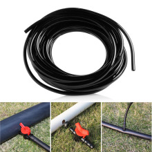 S-home New 5M/10M/20M PVC Watering Tubing Hose Pipe Micro 4/7mm For Drip Irrigation System MAR20(China)
