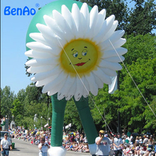 AO015 HOT SALE 7m Inflatable helium flower balloon /giant flying flower advertising balloon/airplane/airship/ flying Cartoon(China)