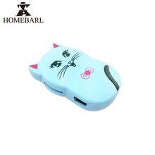 HOMEBARL Cartoon Cute Smile Cat MP3 Player With Portable Micro TF/SD Card Slot Charge USB Cable For Kids Child Study Listen 1B4(China)