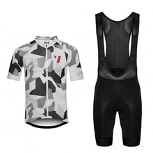 2017 VACUUM Cycling Jersey and Bib cycling clothing men bicycle Cycling Cothing Set With 4D Gel Pad Italia MITI anti slip(China)
