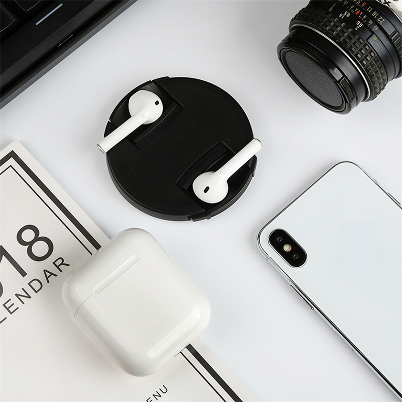 2018 New IFAN I9 Bluetooth Mini Double ear Earbuds Earphone Wireless Air Headsets pods with mic for IPhone 8 7 Plus 6 6s Android (10)