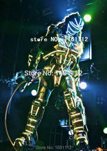 LED Costume2018 /LED Clothing/Light suits/ LED Robot suits/ Luminous costume/ The cost includes stilts568(China)