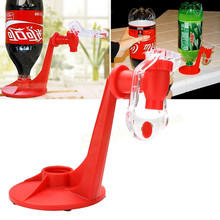 NEW  Mini Upside Down Drinking Fountains Cola Beverage Switch Drinkers Hand Pressure Water Dispenser Kitchen Bar Home Drink Tool