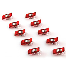 50pcs a SET Home DIY  Red Wonder Clips for Fabric Quilting Craft Sewing Knitting Crochet Kit Tools  WA141 P15
