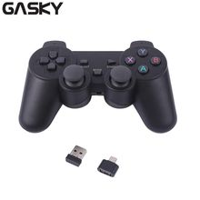 Gasky 2.4G Wireless Smart Gamepad Game Controller Joypad For Android Smart Phone For PS3 Console
