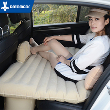 Good Quality Car Back Seat Cover Car Air Mattress Travel Bed Inflatable Mattress Air Bed Oxford And Flocking Inflatable Car Bed