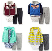 Retail baby girls & boys Letter clothing set ,boy sweatshirt newborn hoodies clothing set baby designers clothes