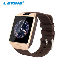 LETINE 2017 Men Sport Smart Watch DZ09 Support SIM Card for Bluetooth Connected iPhone Xiaomi Sony Andriod Phone PK Q18 Gt88 A1(China)