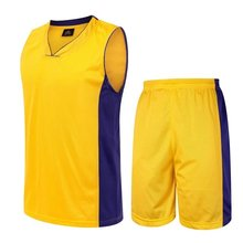 Men basketball jerseys Sportswear Running sleeveless shirts+shorts suits sets basketball club team game quick dry breathable