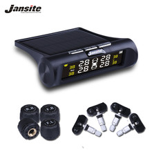 Jansite Monitoring-System Lcd-Display Tyre-Pressure Solar-Power Digital Smart-Car TPMS