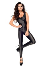 Buy Sexy Bodysuit Pole Dance Night Clubwear Women Latex Catsuit Lenceria Erotica Sexy Costumes Fantasias Sexy Erotic Langerie