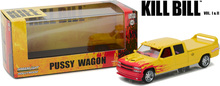 "Green Light 1:43 1997 Custom Crew Cab ""Pussy Wagon"" boutique alloy car toys for children kids toys Model original box"