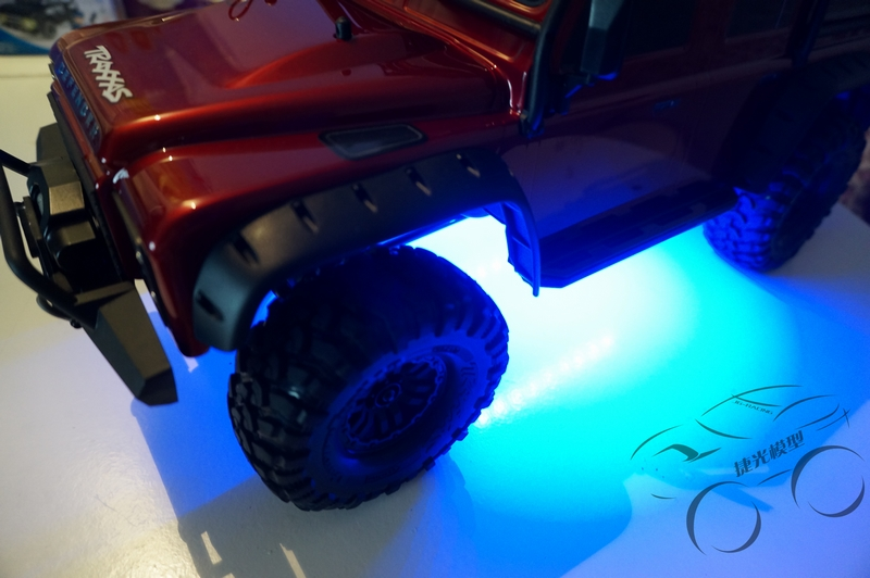 Rc Climbing Car Upgrade Parts Chassis Light Atmosphere Light Receiver Powered For 1/10 TRAXXAS Trx-4 TRX4 RC CAR<br>