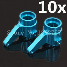 Wholesale 10 Pairs/Lot  HSP 860010 60018 Alum. Steering Hub Carrier For RC 1/8 Model Car Upgrade Parts HSP HIMOTO Remoto Design