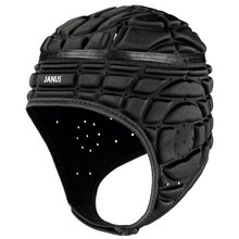 Men's Professional Football Soccer Goalkeeper Helmet Rugby young Cap Head guard Black Red Goalie Roller Hat Head Protector JA158(China)