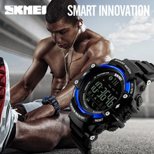 Buy SKMEI Bluetoot Smart Watch Men Sports Wristband Watches Reminder Pedometer Calories Waterproof Watch Apple IOS Android Clock for $19.99 in AliExpress store