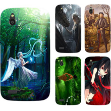 Original Nice Girl Angel Phone Case for HTC Desire V T328W / Desire X T328E Printed Case Coque Painting Back Cover Capa Shell