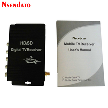 Digital Car ATSC HD TV Receiver Tuner With Antenna for USA Mexico Canada(China)