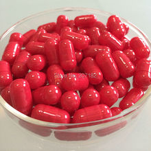 (10,000pcs/pack) Size 00# Red/Red Color Fake-proof size 00#B squab empty capsule,short 00# empty capsule 00B# stocky capsules