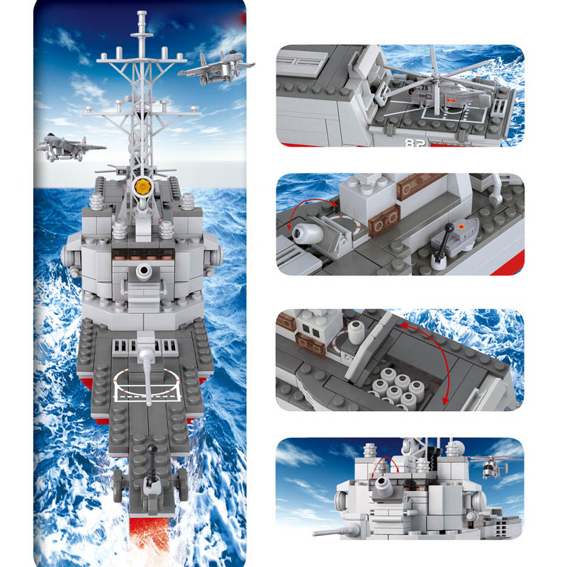 Cool Carrier Carrier Destroyer Model Building Block Amazing Birthday Gift For Children Perfect Compatible With Legoings6