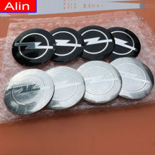 4pcs 56.5mm OPEL logo Wheel Center Hub Cap sticker car rim Badge emblem decal Astra Aglia Corsa Insignia Meriva Zafira Antara(China)