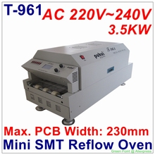 New Arrival PUHUI T-961 Mini SMT Reflow Oven T961 Infrared IC Heater BGA SMD SMT Rework Sation T 961 Reflow Wave Oven