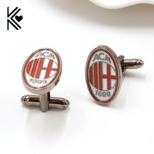 Italy Football Associazione Championship Cufflinks For Mens French Style Fashion Brand Cuff Buttons Shirt Cuff Links